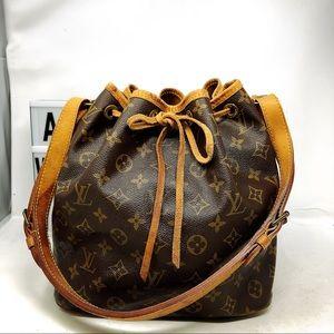 Louis Vuitton Petit Noe Monogram shoulder bag